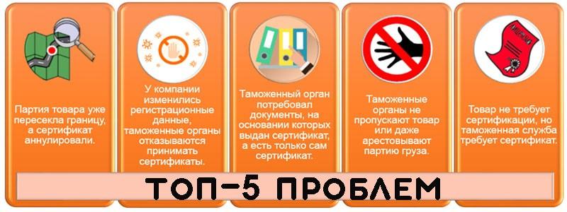 ТОП-5 Проблем